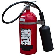 Halotron Fire Extinguisher Residue Cleanup