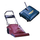 Wide Area Vacuums and Sweepers