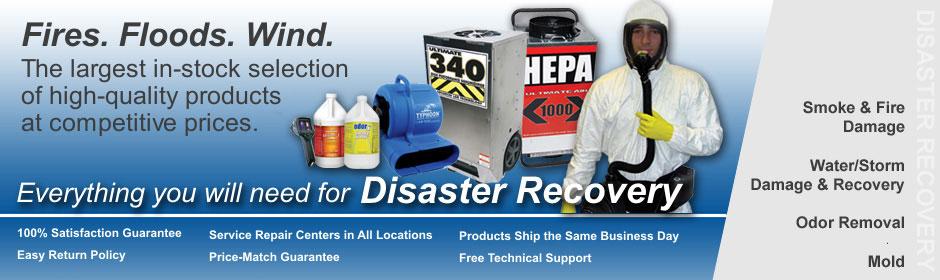 Disaster Restoration Supplies