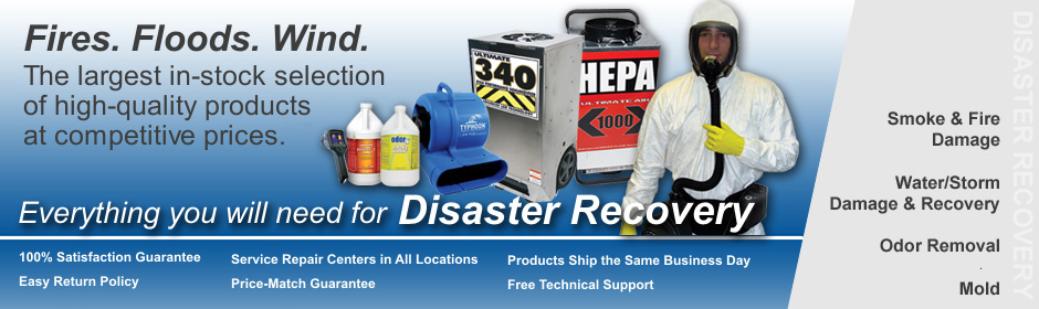 Disaster Restoration Supplies