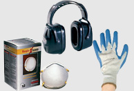 Concrete Personal Protection Safety Supplies