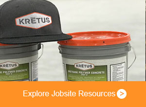 Kretus hat on top of products - Explore Jobsite Resources