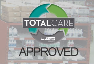 Shaw Total Care Approved Products