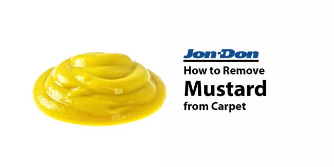 Mustard Removal from Carpet