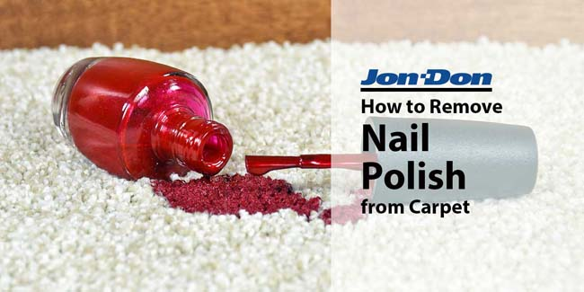 Nail Polish Removal from Carpet