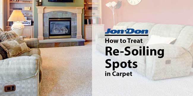 Re-soiling Spot Removal from Carpet