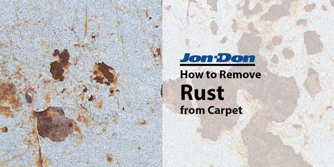 Rust Removal from Carpet