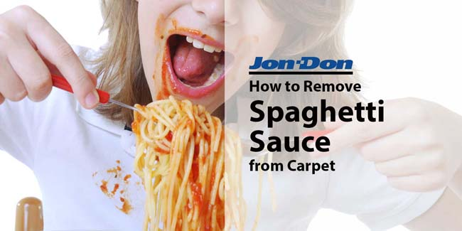 How to Remove Spaghetti Sauce from Carpet