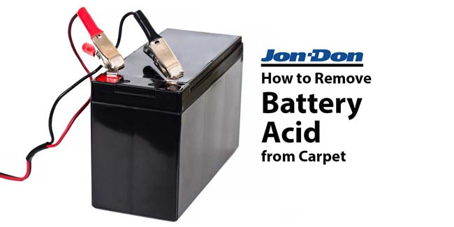 How to Remove Battery Acid from Carpet
