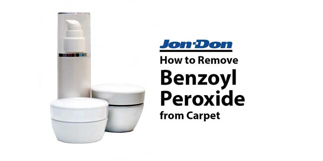 How to Remove Benzoyl Peroxide from Carpet
