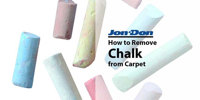 How to Remove Chalk from Carpet