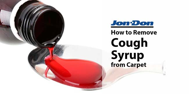How to Remove Cough Syrup from Carpet