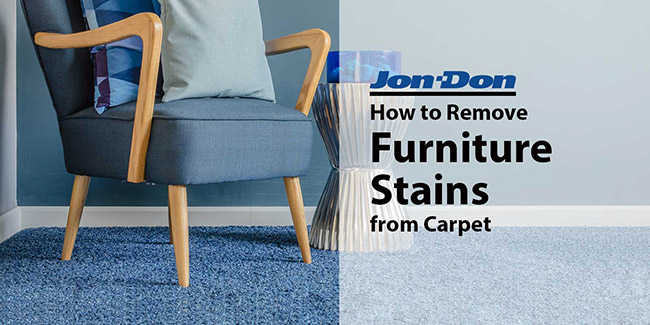 Furniture Stain Removal from Carpet