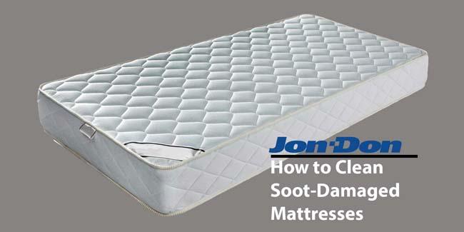 Mattress Soot Cleanup