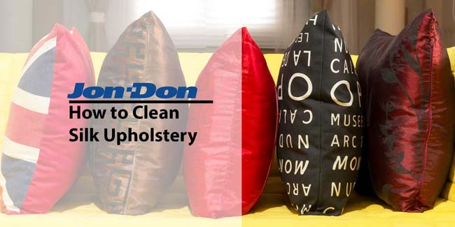 How to Clean Silk Upholstery