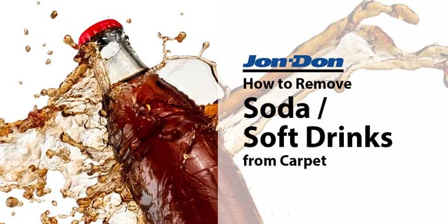Soda and Soft Drink Removal from Carpet