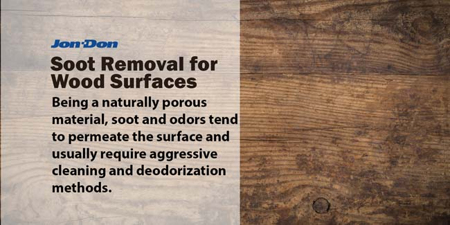 Soot Removal for Wood Surfaces