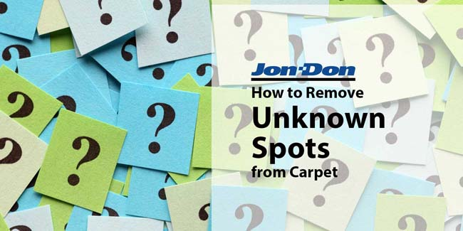 Unknown Spot Removal from Carpet