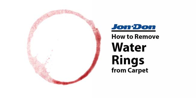 Water Ring Removal from Carpet
