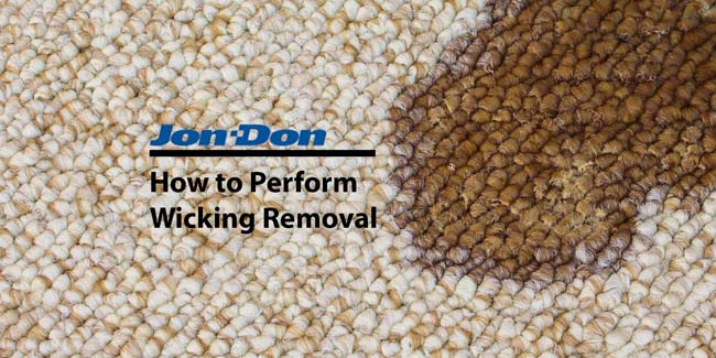 How to Remove Wicking in Carpet