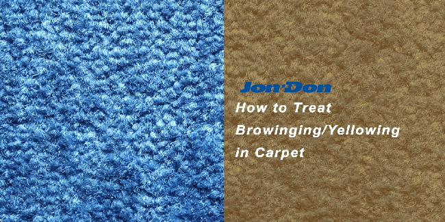 Yellowing / Browning in Carpet