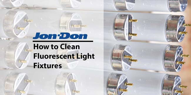 Fluorescent Light Cleaning