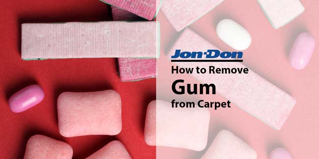 How to Remove Gum from Carpet