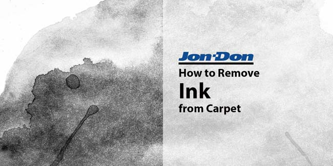 Ink Removal from Carpet