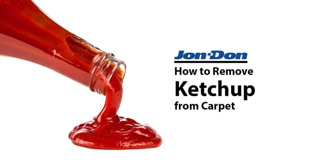 Ketchup Removal from Carpet