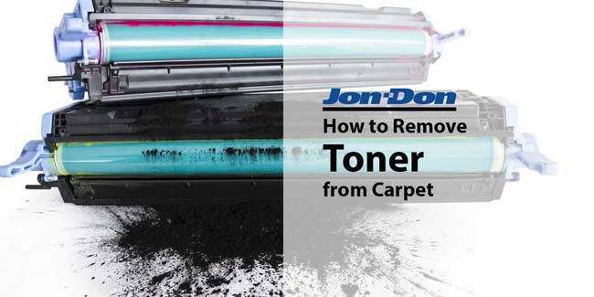 Toner Removal from Carpet
