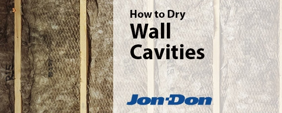 How To Dry Wall Cavities After Water Flood Damage Jon Don
